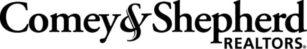 Comey Logo Horizontal Black with White Background